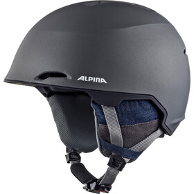 Alpina Maroi Casque de ski, denim-grey matt